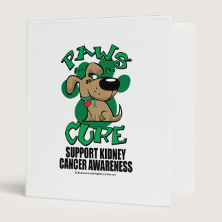 Paws for the Cure Dog Kidney Cancer Binder