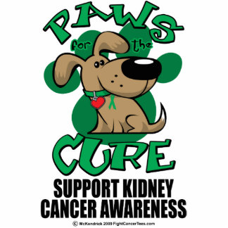 Paws for the Cure Dog Kidney Cancer Photo Cutouts