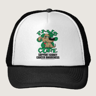 Paws for the Cure Dog Kidney Cancer Trucker Hat