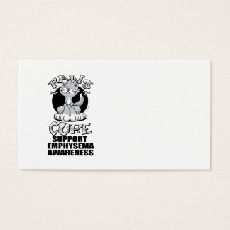 Paws for the Cure Emphysema Business Card
