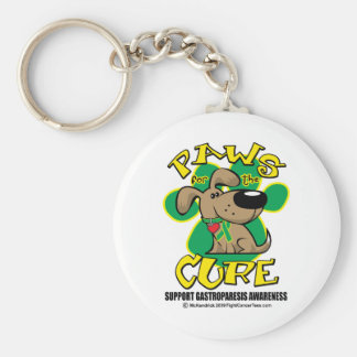 Paws for the Cure Gastroparesis Keychain