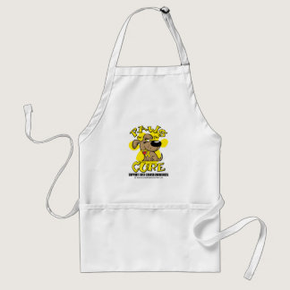 Paws for the Cure: Liver Cancer Adult Apron