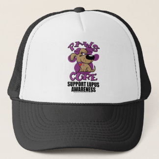 Paws for the Cure Lupus Trucker Hat
