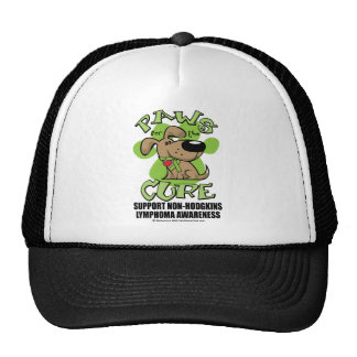 Paws for the Cure Non-Hodgkins Lymphoma Trucker Hat