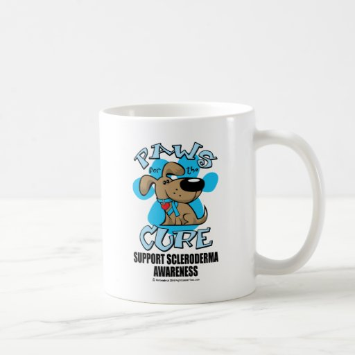 Paws for the Cure Scleroderma Coffee Mug