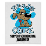 Paws for the Cure Scleroderma Poster