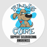 Paws for the Cure Scleroderma Stickers
