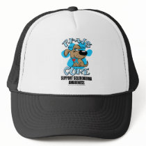 Paws for the Cure Scleroderma Trucker Hat