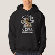 Paws for the Cure Scoliosis Hoodie
