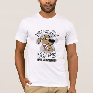 Paws for the Cure Scoliosis T-Shirt