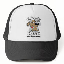 Paws for the Cure Scoliosis Trucker Hat