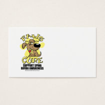 Paws for the Cure Spina Bifida Business Card