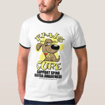 Paws for the Cure Spina Bifida T-Shirt