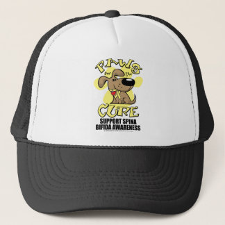 Paws for the Cure Spina Bifida Trucker Hat