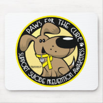 Paws for the Cure Suicide Prevention Mouse Pad