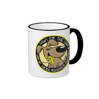 Paws for the Cure Suicide Prevention Ringer Mug
