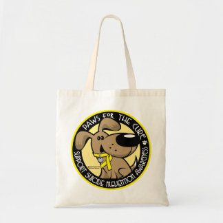 Paws for the Cure Suicide Prevention Tote Bag