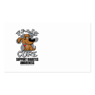 Paws for the Diabetes Dog Business Card