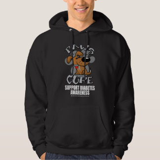 Paws for the Diabetes Dog Hoodie