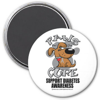 Paws for the Diabetes Dog Magnet