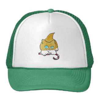 Paws have it, Ginny's Prize Trucker Hat