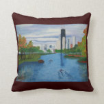 """Paws Here 20""""x20"""" Pillow """"Lincoln Park-Chicago"""""""