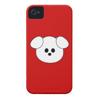"Paws Here iPhone 4 Case ""Puppy"""