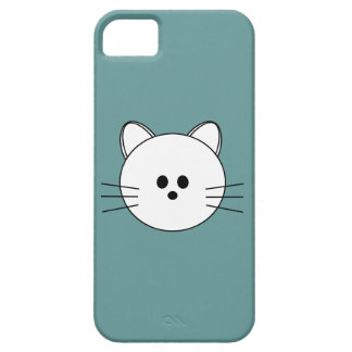 "Paws Here iPhone 5 Case ""Kitty"""