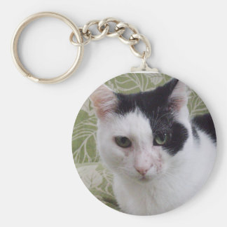 "Paws Here Keychain ""Toppy"""