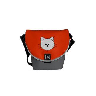 "Paws Here Mini Messenger Bag ""Kitty"""