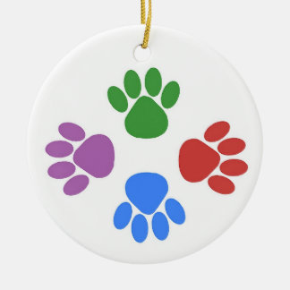 Paws Here Ornament