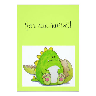"""Paws Here """"Paul"""" Invitation Card"""