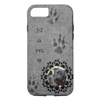 Paws in Cement - Always There iPhone 7 Case