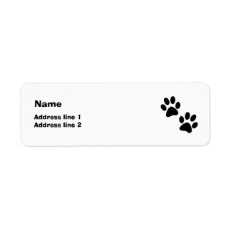 Paws Label