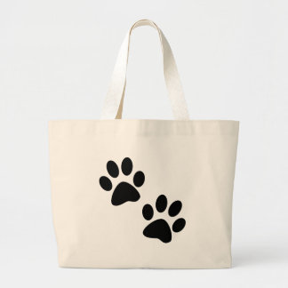 Paws Large Tote Bag