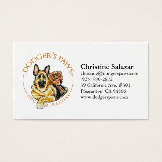 Paws Logo Business Card