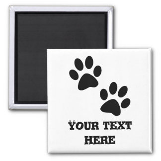 Paws 2 Inch Square Magnet