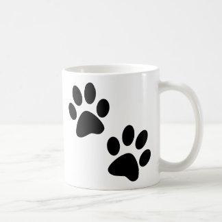 Paws Classic White Coffee Mug