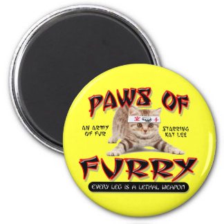 Paws Of Furry Magnet