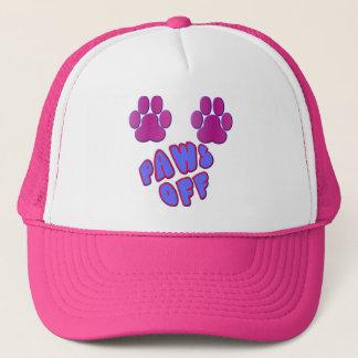 Paws Off Trucker Hat