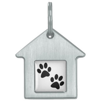 Paws Pet Name Tag
