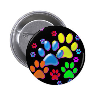 Paws Pinback Button