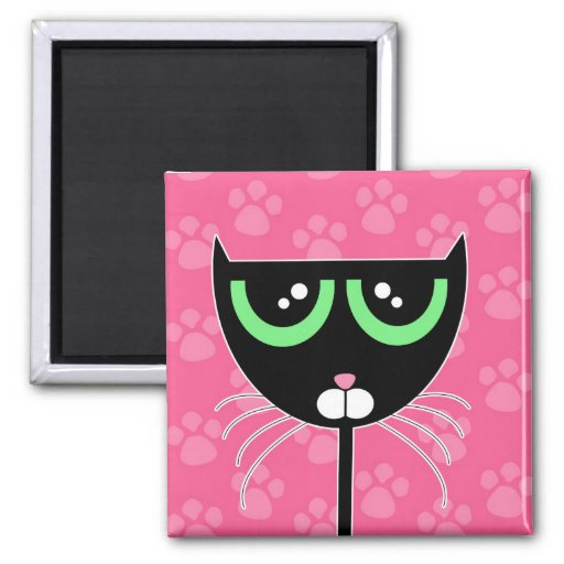 PAWS Pink - Magnet