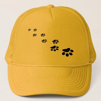 PAWS (puppy dog paw prints) ~ Trucker Hat