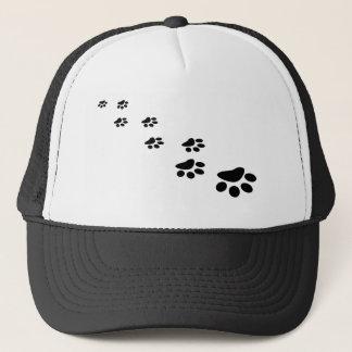 PAWS! (puppy dog paw prints) ~ Trucker Hat