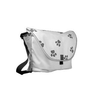 Paws Small Messenger Bag