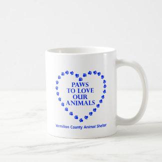Paws To Love #26 - Heart - Blue Coffee Mug