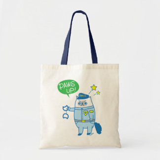 Paws up! Goma Is Pawsome Pawlice Tote Bag