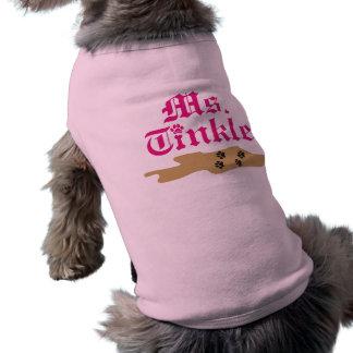 PawsID Ms. Tinkle Dog Shirt