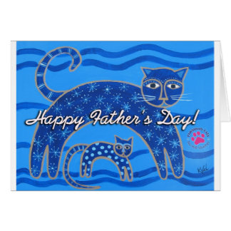 PAWSitively CATS Father s Day Card
